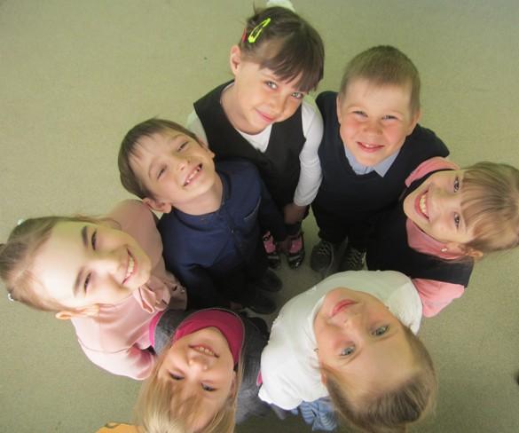 Дети школы